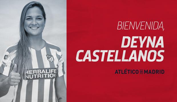 Atleti Femenino Deny Castellanos Fichaje