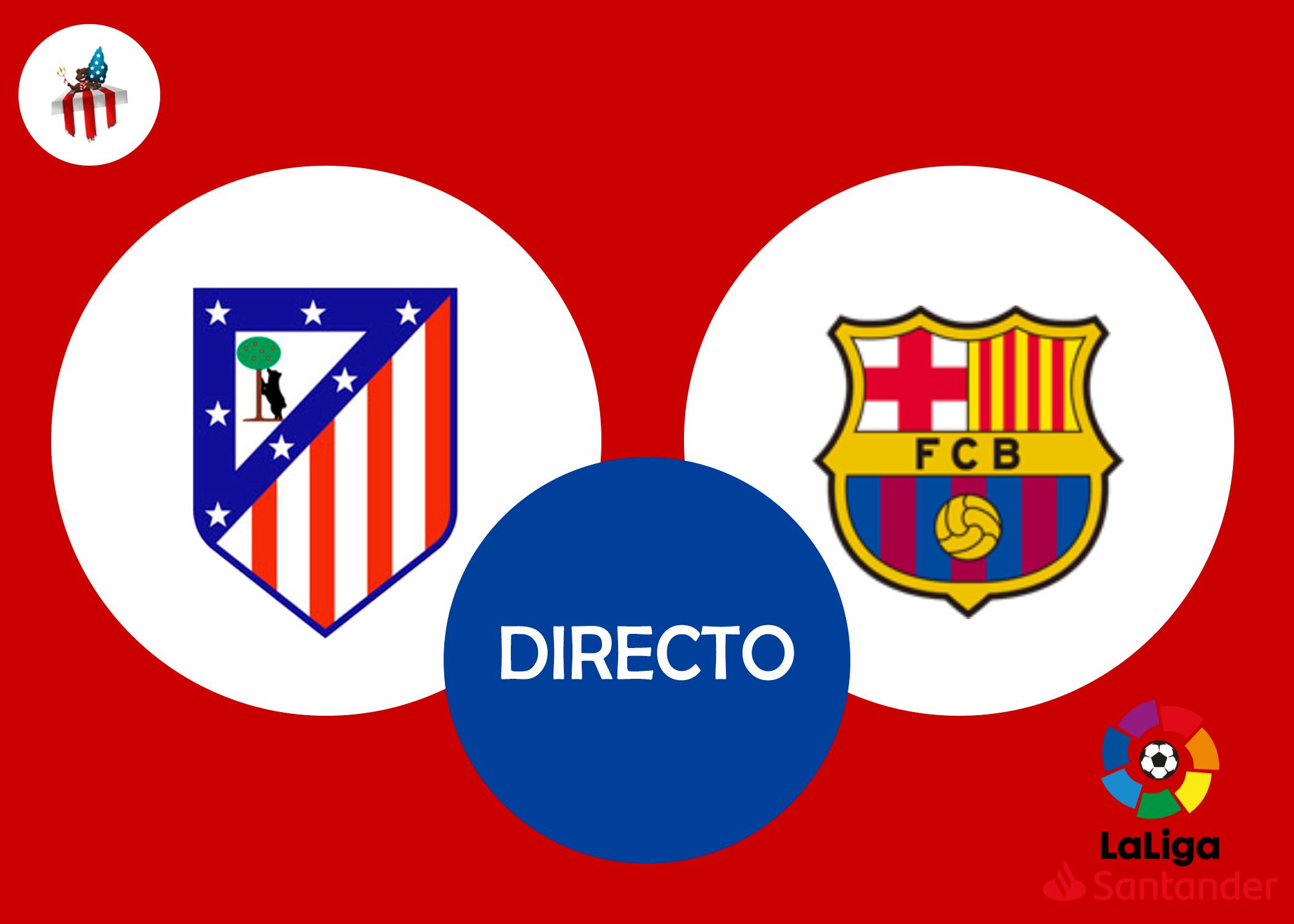 Directo Atlético Barcelona